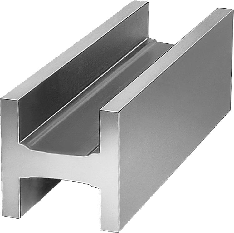 norelem profil en h fonte grise et aluminium. Black Bedroom Furniture Sets. Home Design Ideas
