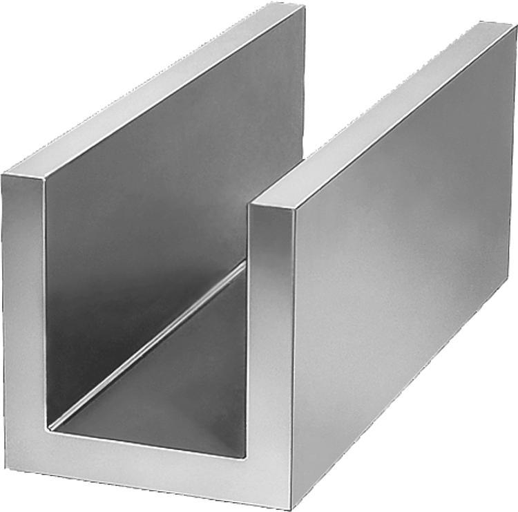 norelem profil en u fonte grise et aluminium. Black Bedroom Furniture Sets. Home Design Ideas