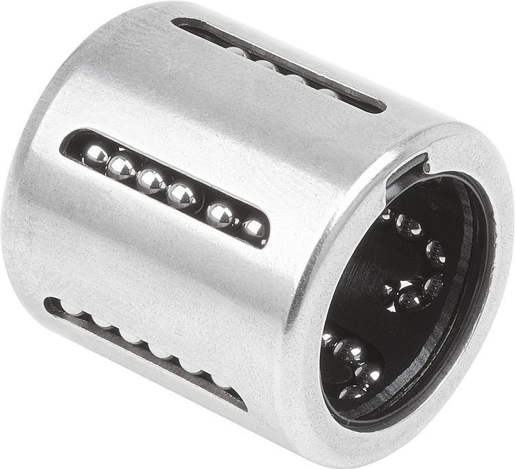 Paliers linéaires à billes compacts en acier