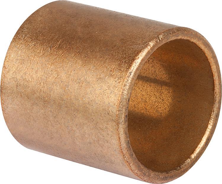 Bagues bronze lisse a collerette