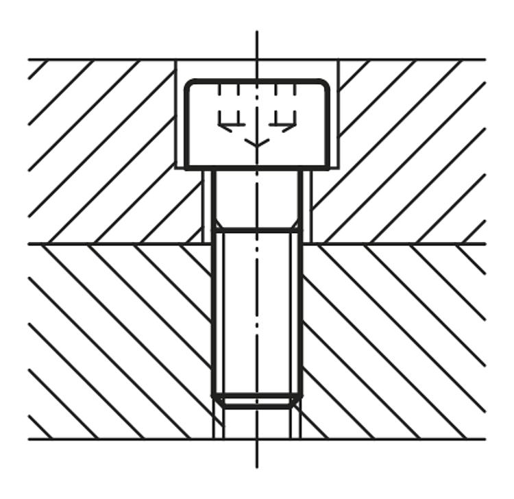 5 Pièces Titane Cylindre Vis m5 x 6 in Grade 5//Titanium iso4762 DIN 912