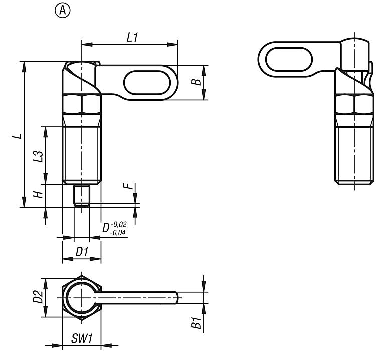 Springfield 1100019/12/giro S//bloqueo de acero