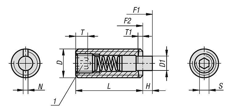 Pour porte en PVC Pression support/ée/: 0,92 bar Poign/ée /à ressort noir Livr/ée avec des vis Taille/: 122/mm