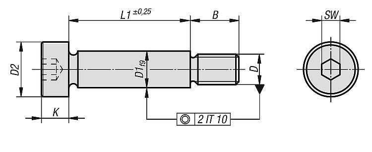 300/varios Brida Posi//Trim autorroscante tornillos n/º 6/y n/º 8 /70/acero inoxidable A2/