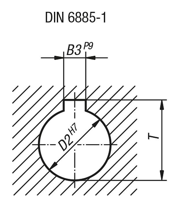 k0160.4200/x 18 1/pi/èce Volant sans /écrou /à bascule aluminium D2/= 18 Komp: Aluminium D1/= 200