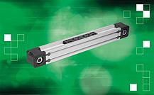 Linear actuators with toothed belt drive